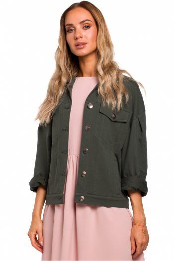 Jachetă Moe verde