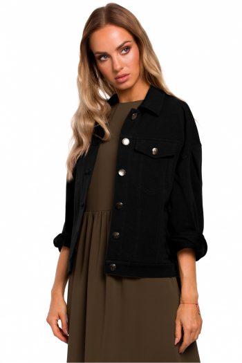 Jachetă Moe negru