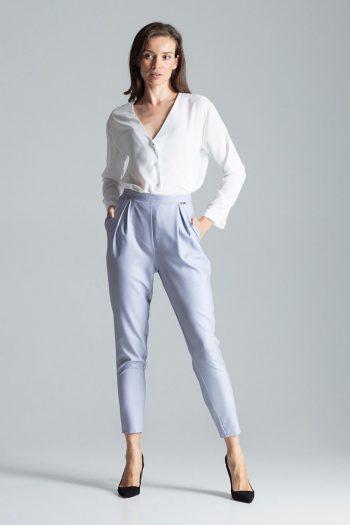 Pantaloni de damă Figl gri