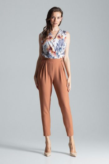 Pantaloni de damă Figl maro