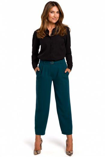 Pantaloni de damă Style verde