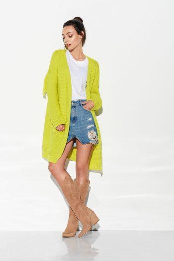 Cardigan Lemoniade verde