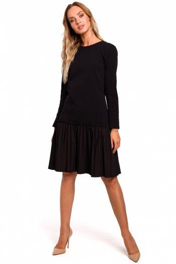 Rochie de zi Moe negru