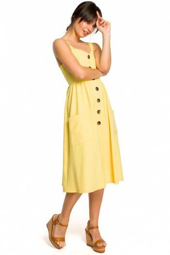 Rochie de zi BE galben