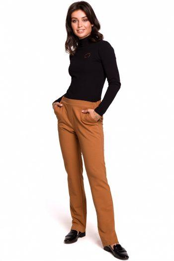 Pantaloni lungi BE maro
