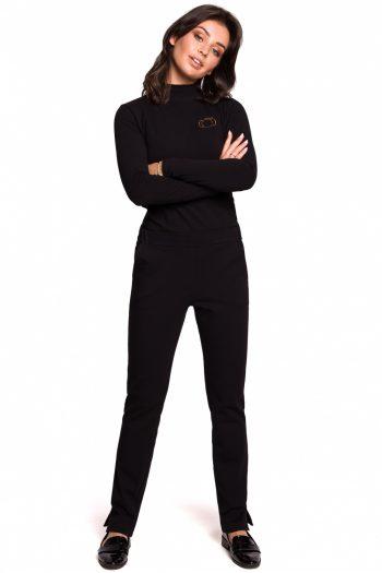 Pantaloni lungi BE negru
