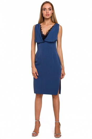 Rochie de seară Moe albastru