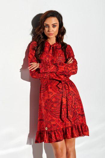 Rochie de zi Lemoniade roşu
