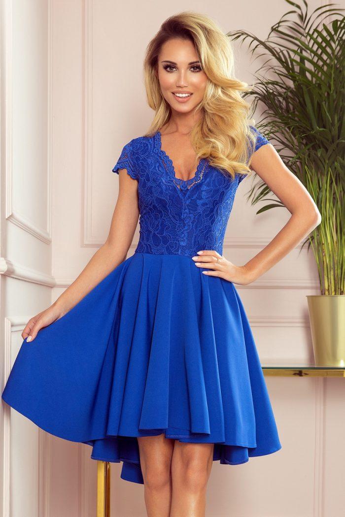Rochie de seară Numoco albastru